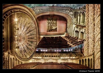Composite - Inside the Orpheum Theatre