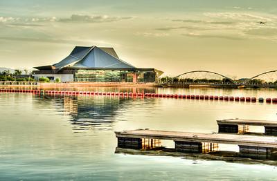 Tempe Art Center & Lake