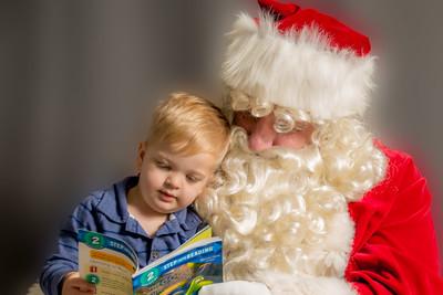 Visiting with Santa (AZ Autism United)