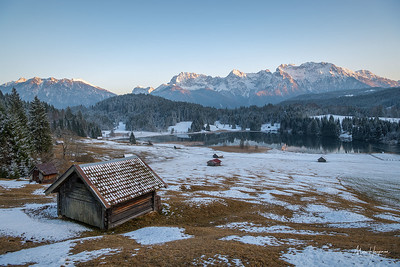 A quiet evening at the Geroldsee