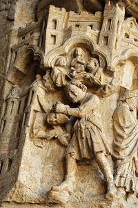 Detail of the Saint Firmin portal, west façade