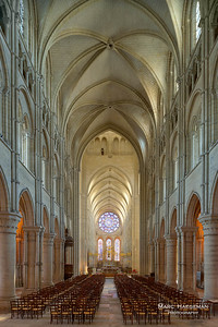 General view of nave and choir (c. 1165-1205)