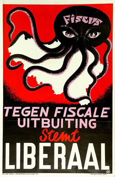 Liberal Party, poster for the election campaign of 1949