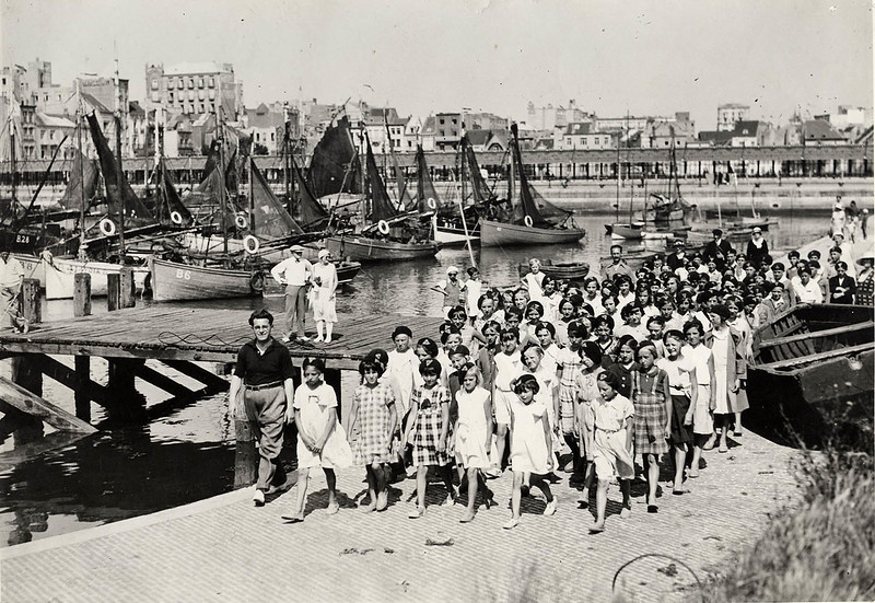 Kindergeluk in Blankenberge (July 1933)