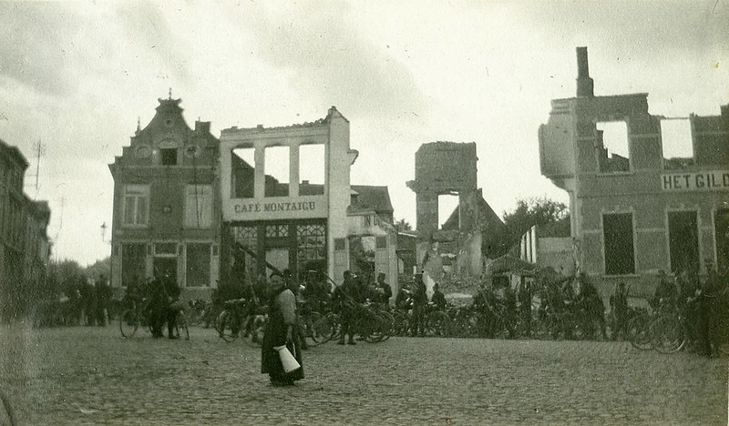 Ghost town Aarschot (11 September 1914)