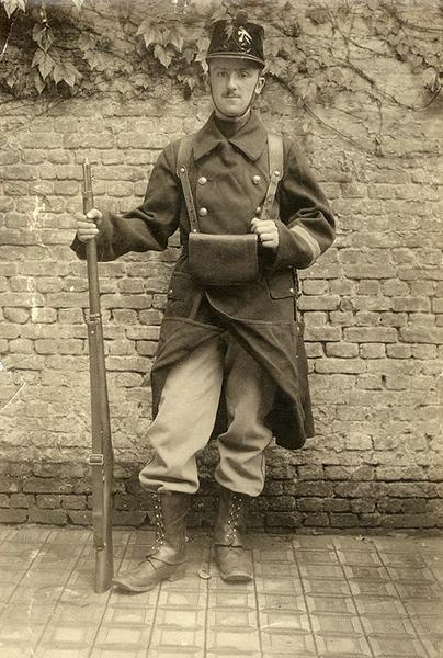 Corporal Jean Pecher (1914)