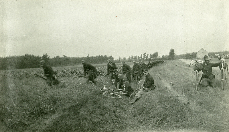 Belgian infantry moves into action (6/7 September 1914)