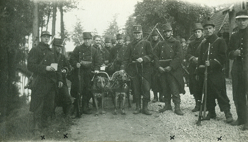 The machine-gunners of the 7th Line (early September 1914)