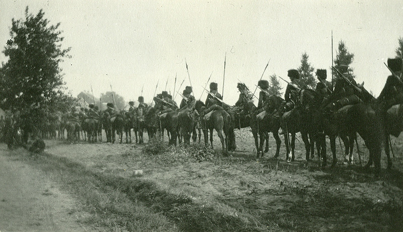 Belgian cavalry (late August 1914)