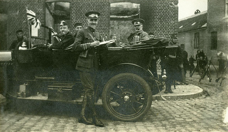 British presence in Aarschot (11 September 1914)