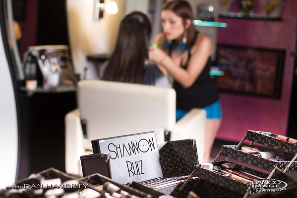 Shannon Ruiz Artist of Make Up for Danco Image Photography