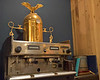 An old coffee machine