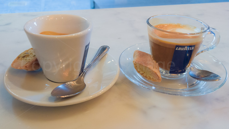 A duo of coffees