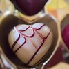 White chocolate heart