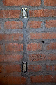 Stove Lighter Box Channel Mortared In