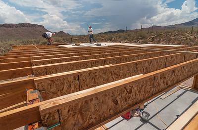 Installing Plywood Roof Seathing
