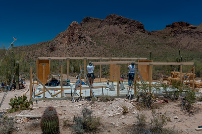 Installing a Beam, South Side