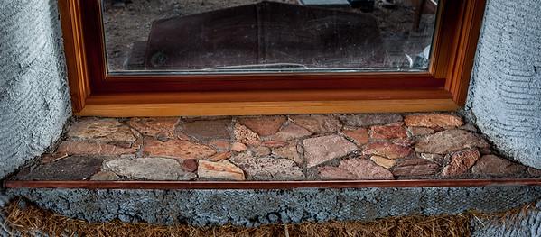 West Stone/Concrete Window Seat