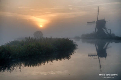 Morning on the Kinderdijk