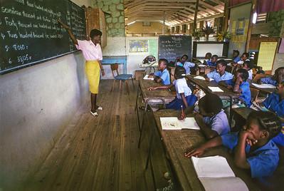 Classroom in Dominica