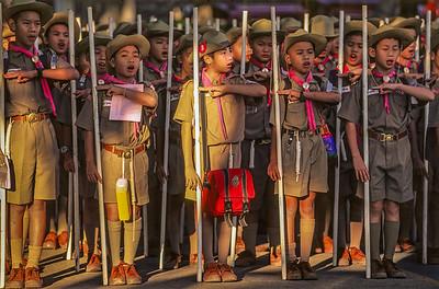 Thai Boy Scouts