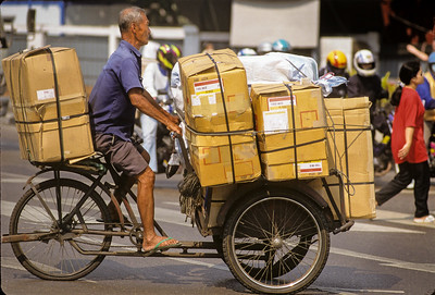 Bicycle Package Delivery