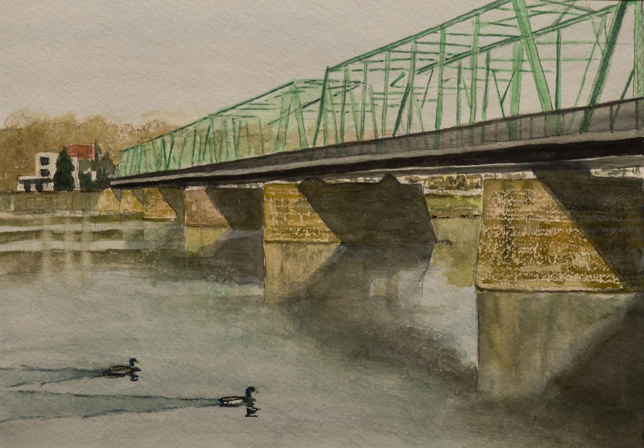 New Hope - Lambertville Bridge