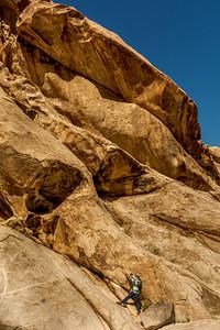 Hiker near El Camino Del Diablo #3