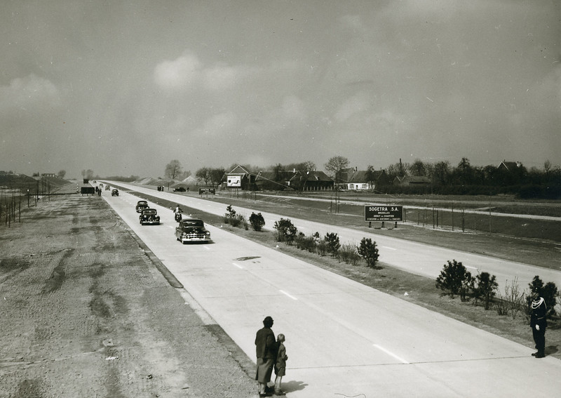 Opening of the first Belgian expressway (1956)