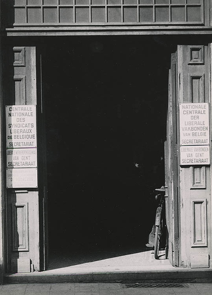 Entrance for the unemployed (1935)