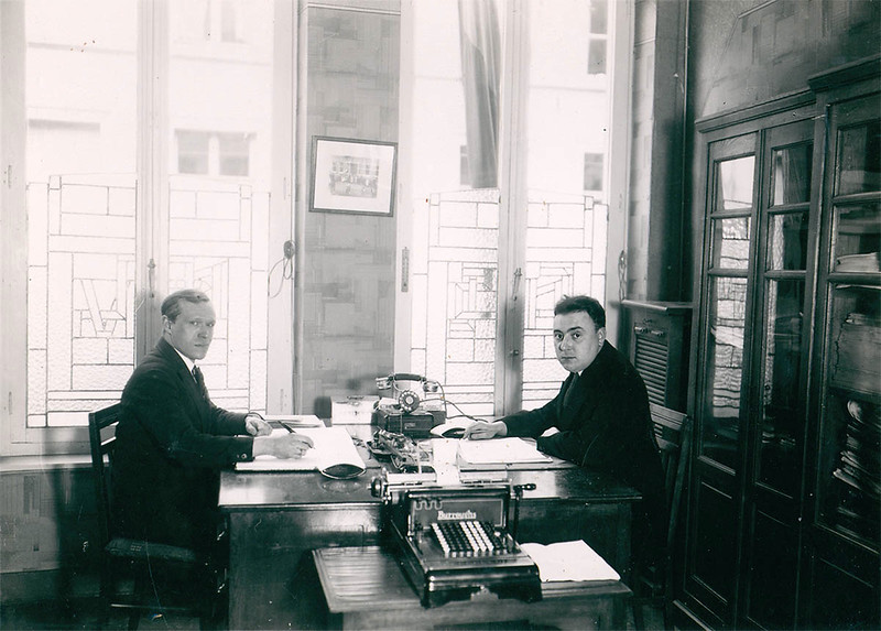 The accountancy department (1933)
