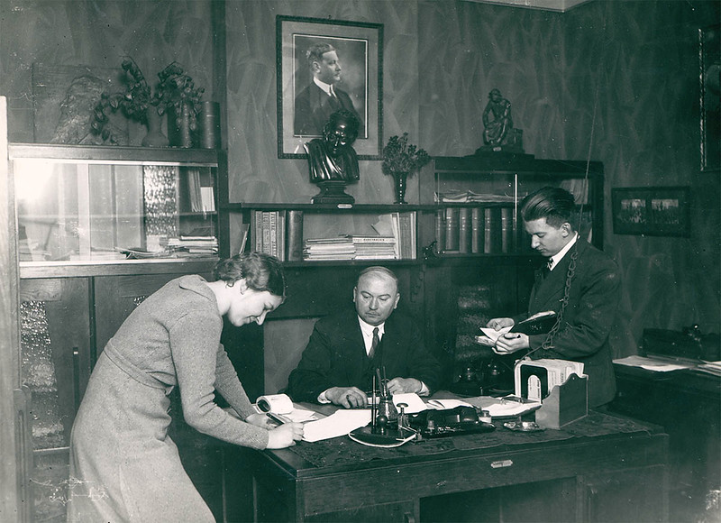 The director's office (1935)