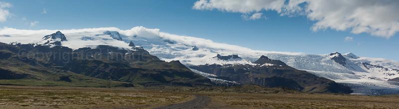 Vatnajokull glacier