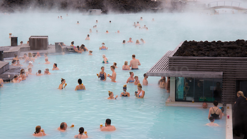 Relaxation time in the Blue Lagoon