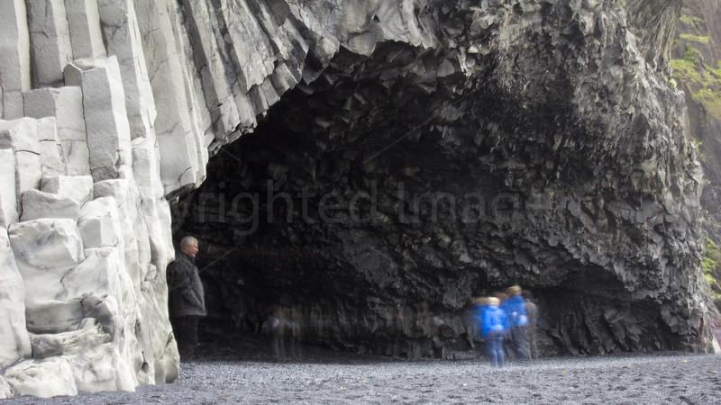 A cave at Reynisfjara