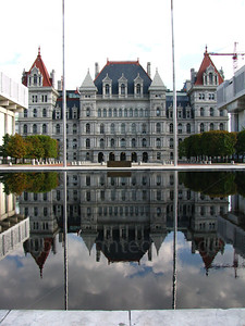 Reflection in Albany