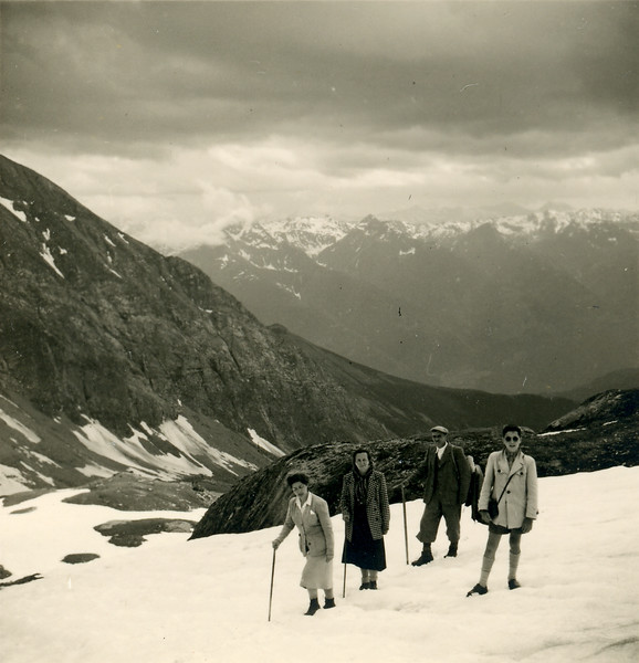 Hiking the Glocknerkamm, 1951