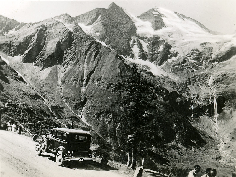 Towards the Fuscherkarkopf, 1951