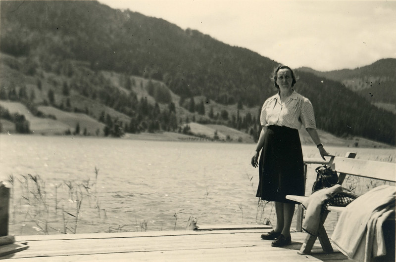 At the Weissensee, 1951