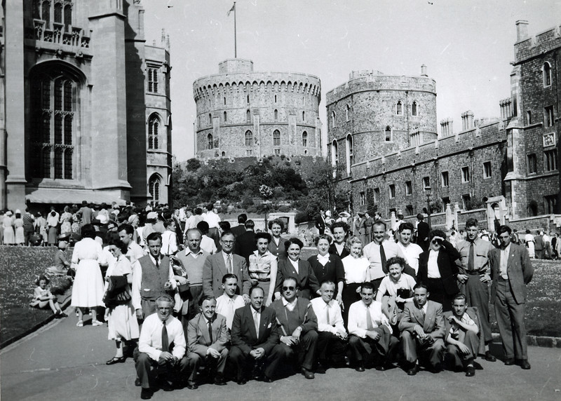 Windsor Castle, 1953