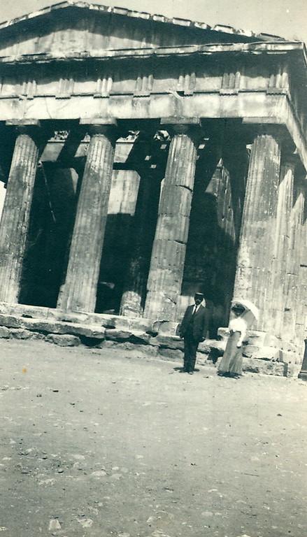 The Parthenon, 1910
