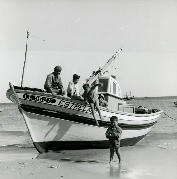 Fishermen in the Algarve, 1962