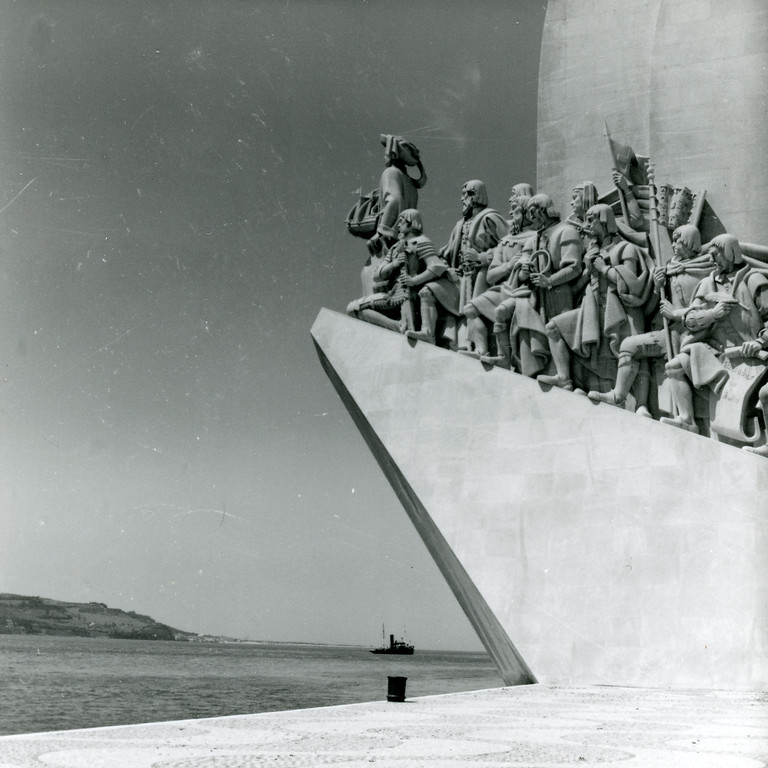 Lisbon, Monument to the Discoveries, 1962