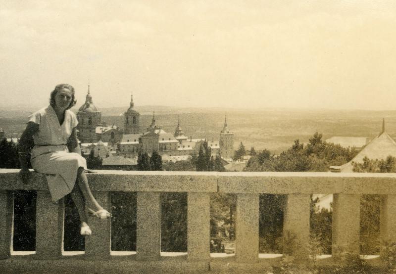 El Escorial, 1955