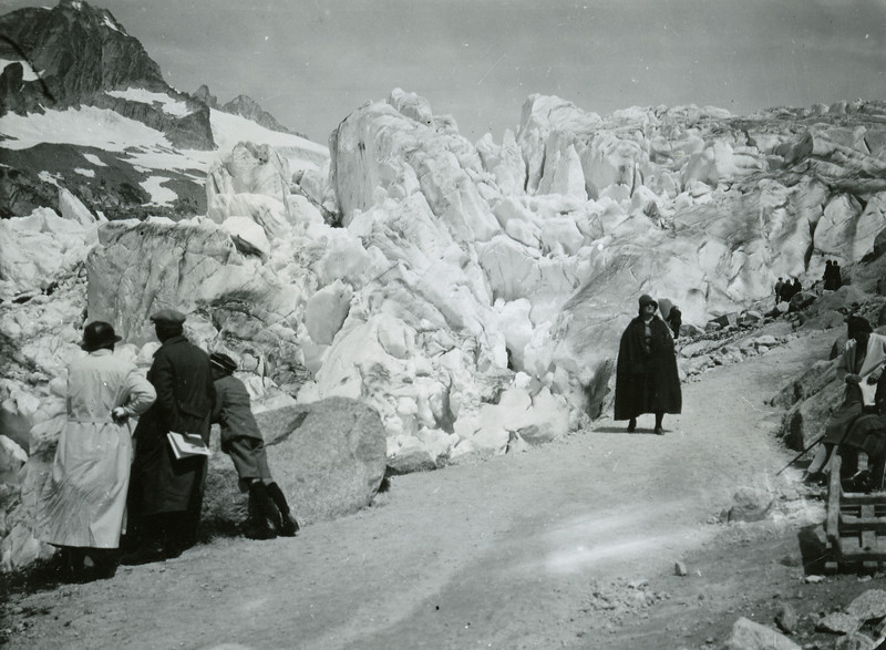 Furka Pass and Rhone Glacier, 1933