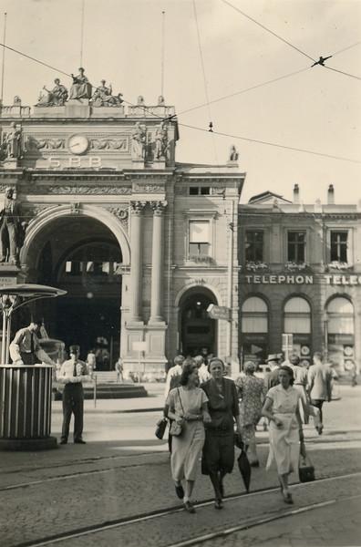 Zürich Hauptbahnhof, 1950