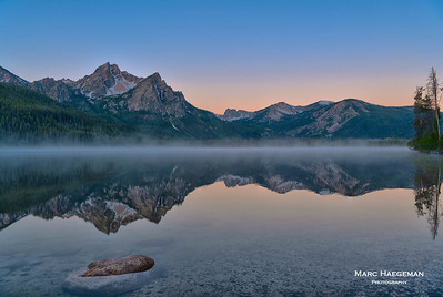 Dawn at Stanley Lake