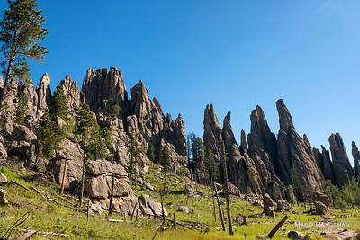 Cathedral Spires in Custer State Park