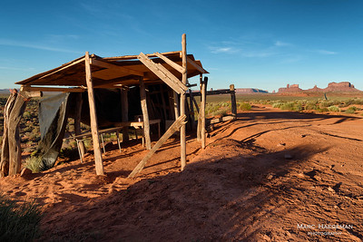 Abandoned Navajo shop