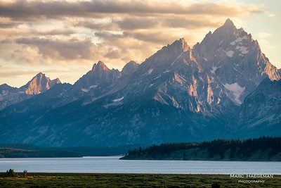 The Grand Tetons and Jackson Lake